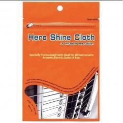 Hero Shine Cloth 吉他金屬部件亮光布 英雄布
