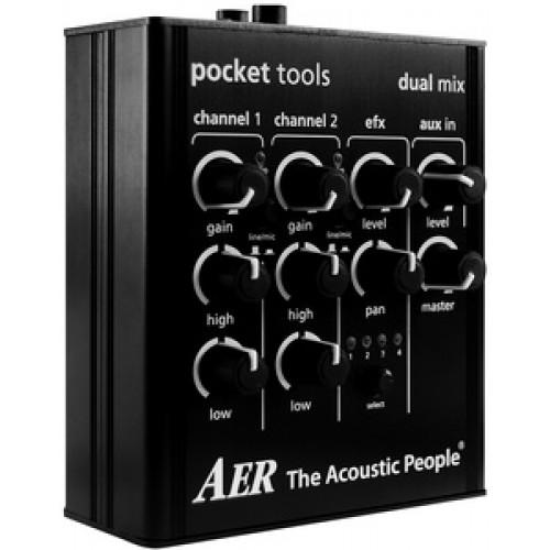 AER Dual Mix最新版二代 | 木吉他/烏克麗麗/小提琴前級
