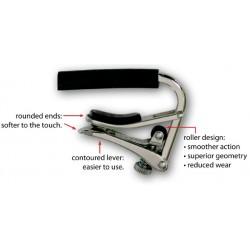 美國製SHUBB  C5 銀 Banjo鍍鎳移調夾