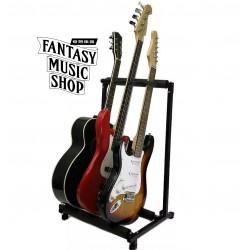 Stagg SG-A010/3 BK 折疊式 3支型吉他展示架