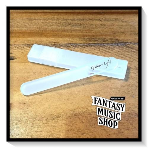 水晶玻璃指甲銼刀 Guitar Life | 含塑膠保護外盒 長9cm*寬1.2cm