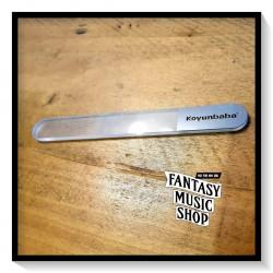 玻璃指甲銼刀   含皮質保護外套 長11cm*寬1.2cm