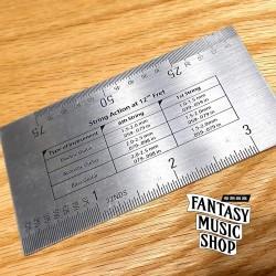 吉他弦距量測卡尺 | 弦距卡-金屬款