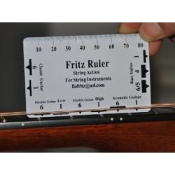 吉他弦距量測卡尺 | 弦距卡-塑料款