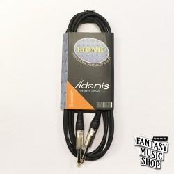 Adonis 3m HPC-310L3BK 吉他導線 (雙邊直頭)