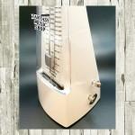 NIKKO 古典機械式 節拍器 乳白色   日本公司貨