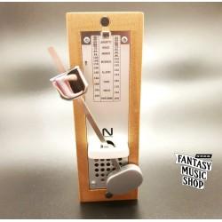 NIKKO 迷你機械式 節拍器 木質款 | 日本公司貨