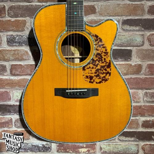 Blueridge BR-183C-LE 全單板 民謠吉他