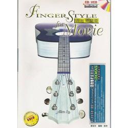吉他新樂章:暢銷電影主題音樂吉他演奏 (附VCD+CD)