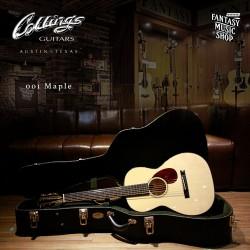 Collings 01 Maple 古典頭 全單板 手工 民謠吉他