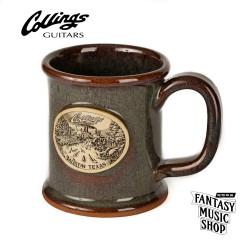 Collings 美國製純手工粗陶馬克杯| 西班牙苔蘚綠松色