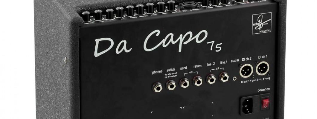 震撼音箱界的Da Capo75
