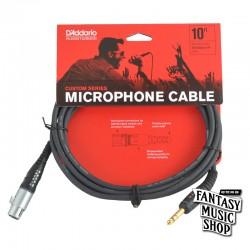 D'Addario 10ft Custom Series Instrument Cables 麥克風導線
