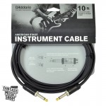 D'Addario 10ft American Stage Instrument Cables 雙直頭導線