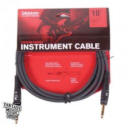 D'Addario 10ft Custom Series stereo Instrument Cables 雙直頭導線