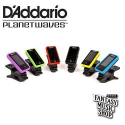 D'Addario PW-CT-17 夾式全頻調音器 (紅色)【電吉他/電貝斯/民謠吉他專用】