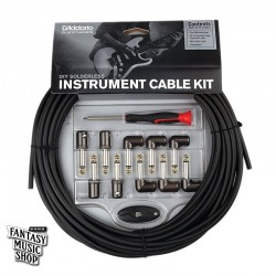 D'Addario DIY Solderless Pedalboard Cable Kit DIY導線組 (10ft)
