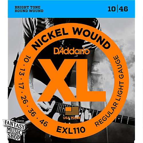 Daddario EXL110 電吉他套弦 (10-46)
