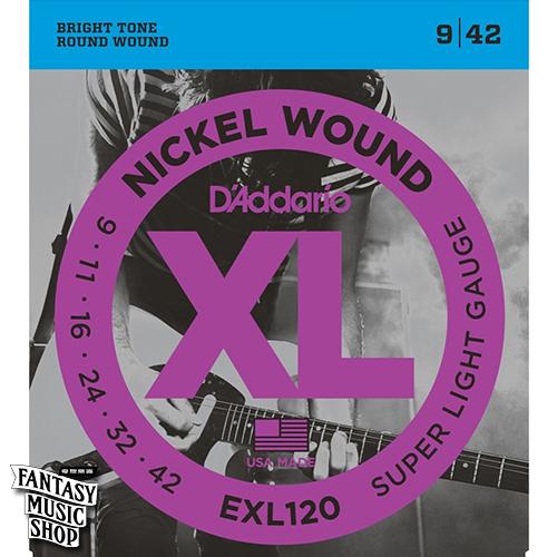 Daddario EXL120 電吉他套弦 (09-42)