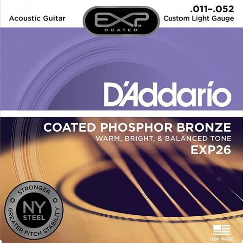Daddario EXP26 民謠吉他紅銅弦  全新真空包裝