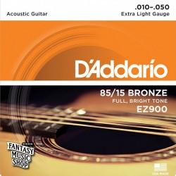 Daddario EZ900 民謠吉他黃銅弦(10-50)