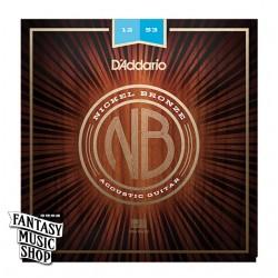 D'Addario NB1253 民謠吉他弦