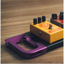 ENDAW  Tributary Pebble 5 效果器盤 附雨衣袋 圓頭製造 (紫色)