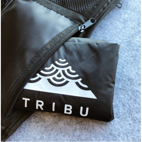 ENDAW  Tributary Pebble 5 效果器盤 附雨衣袋 圓頭製造 (綠色)