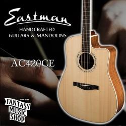 Eastman AC420CE 全單板插電民謠吉他