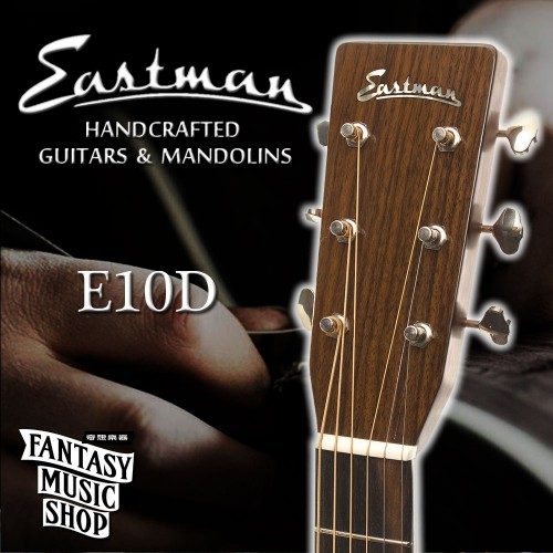 Eastman E10D 全單板民謠吉他