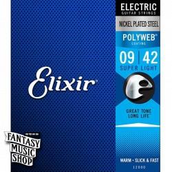 Elixir POLYWEB 電吉他套弦 (09-42)