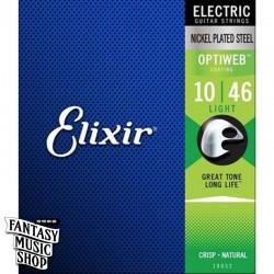Elixir OPTIWEB 電吉他套弦 (10-46)