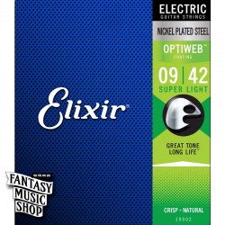 Elixir OPTIWEB 電吉他套弦 (09-42)