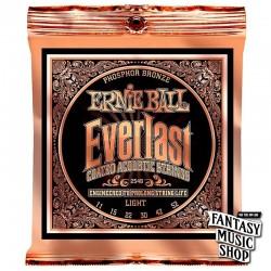 Ernie Ball 2548 民謠吉他弦 Everlast (覆膜磷銅弦)