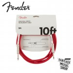 Fender Cable SS Original 10ft FRD 樂器導線 | 紅