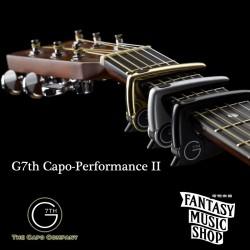 G7th Capo-Performance II 6弦專用 高階油壓款capo (銀色)