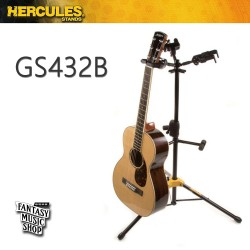 HERCULES Stands GS432B 單支吉他架(可掛三支) 海克力斯