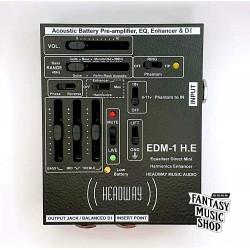 英國Headway EDM-1H.E單軌前級 木吉他/烏克麗麗/貝斯前級