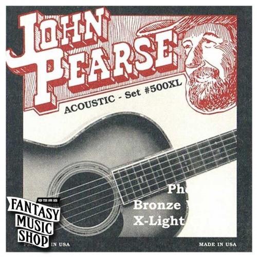 John Pearse 紅銅民謠吉他弦 500XL