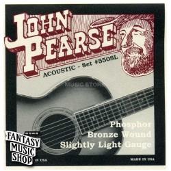 John Pearse 紅銅民謠吉他弦 11-50 | 550SL