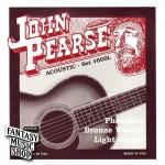 John Pearse 紅銅民謠吉他弦 600L