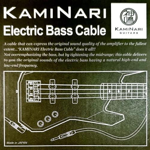 日本【神鳴】Bass電貝斯 | Kaminari高階手工導線