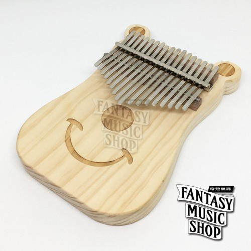 卡林巴琴 kalimba 拇指琴 | 熊輕鬆 板式卡林巴琴 | 附所有配件