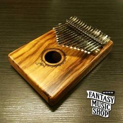 卡林巴琴 Kalinba 拇指琴 Puka TPK17 | 相思木款 | 附配件 | 海豚雕刻