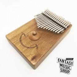 卡林巴琴 kalimba 拇指琴 | 微笑牛樟木款 | 附所有配件