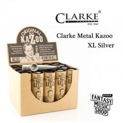 金屬款 Kazoo 卡祖笛 | 英國製Clarke Metal Kazoo XL ( 加大版 )
