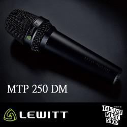 LEWITT MTP 250 DM – 手持有線動圈麥克風
