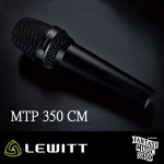 LEWITT MTP 350 CM – 專業手持有線電容式麥克風