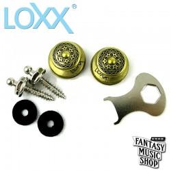 Loxx 德製安全肩帶釦-吉他/貝斯-維多利亞