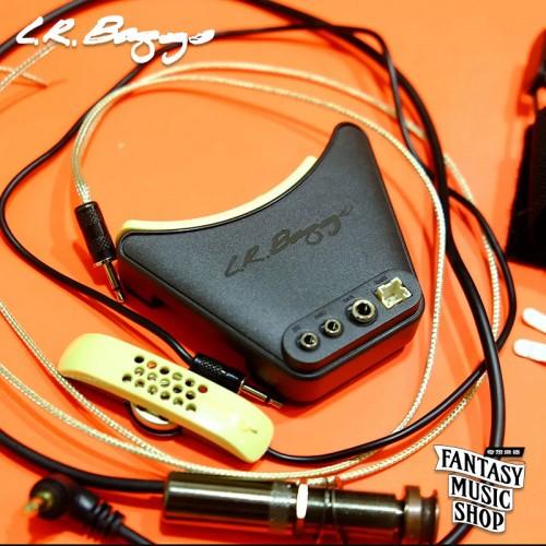 L.R. Baggs Anthem split saddle 兩截式下弦枕+麥克風雙系統主動式拾音器 (Takamine/Lowden適用)